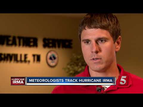 National Weather Service, Red Cross Track Hurricane Irma From Nashville