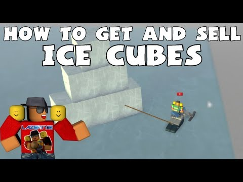 [Roblox] Snow Shoveling Simulator: HOW TO GET & SELL ICE CUBES (FAST MONEY)
