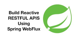 What is Reactive Programming ? - Build Reactive API Using Spring Boot/Spring WebFlux