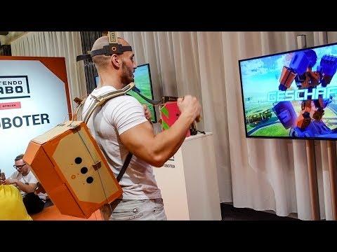 NEUE Nintendo Erfindung - Familien VLOG