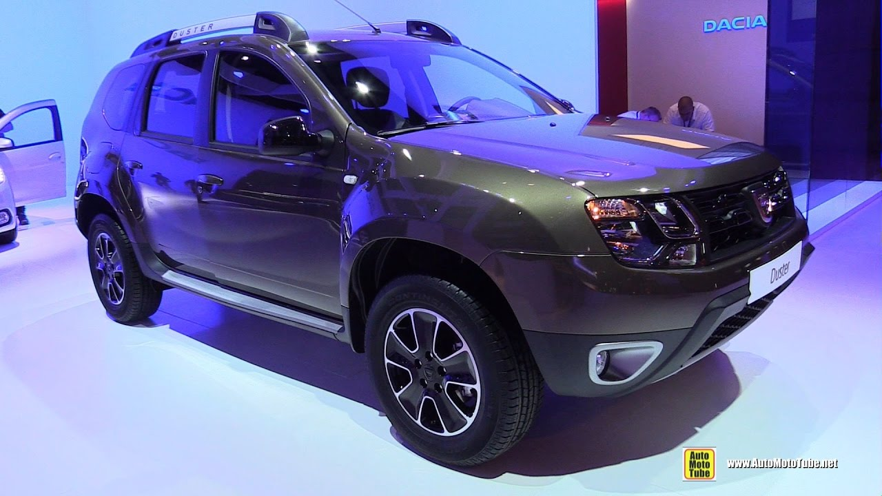 2017 dacia duster exterior and interior walkaround 2016 paris motor show youtube. Black Bedroom Furniture Sets. Home Design Ideas