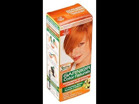 гарнер краска для волос 7.40