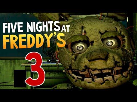 Five Nights at Freddys 3 - ОНИ ВЕРНУЛИСЬ!