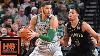Boston Celtics vs Atlanta Hawks Full Game Highlights / April 8 / 2017-18 NBA Season