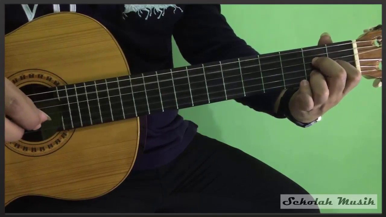 belajar chord kunci mayor 7 gitar lengkap youtube. Black Bedroom Furniture Sets. Home Design Ideas