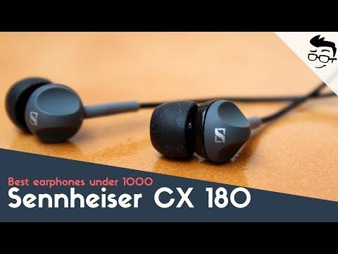Sennheiser CX 180 Review & Unboxing (street ii) in Hindi, Best earphones under 1000??