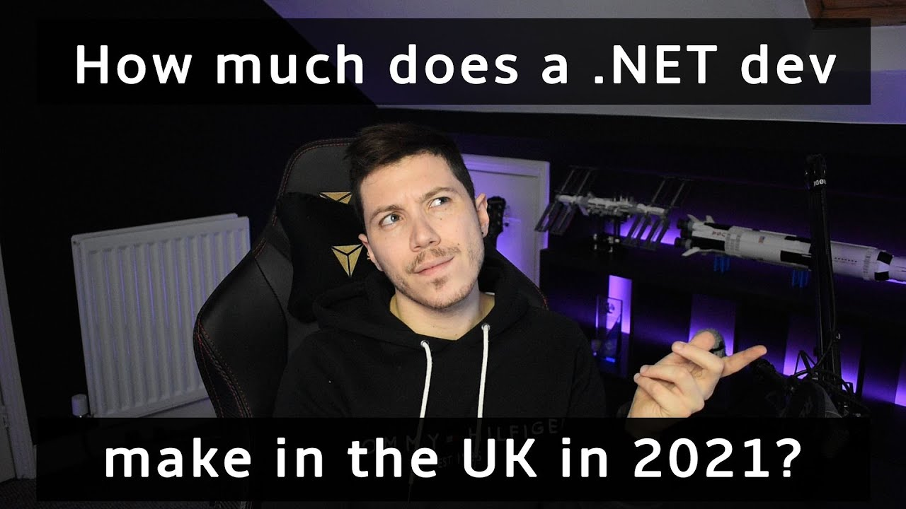 How Much Do .NET Developers Make in The UK In 2021?