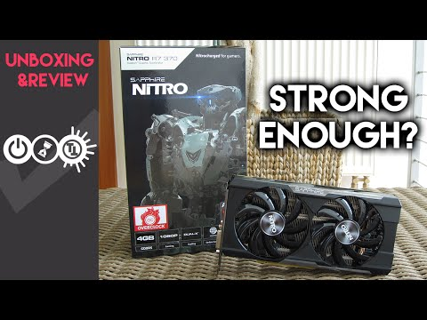 Sapphire R7 370 Nitro Review & Unboxing