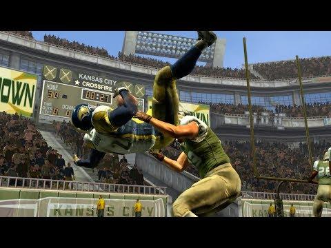 BONE BREAKING TACKLES IN NFL BLITZ!! - Thursday Throwback