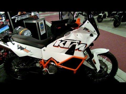 2013 KTM Baja 990 Adventure Special Edition - Walkaround - 2013 Montreal Motorcycle Show