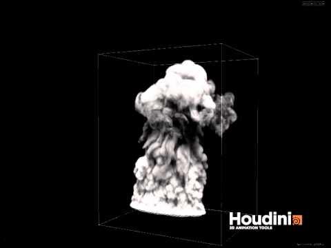 Houdini 12 PyroFX 2 0 OpenCL Smoke Simulation