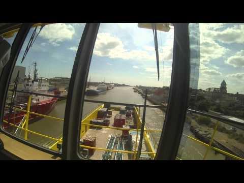 North sea supply vessel PSV M/V World Diamond departing Great Yarmouth, UK