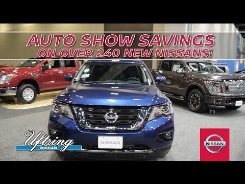 Auto Show 2017 - Uftring Nissan - Peoria, IL - YouTube