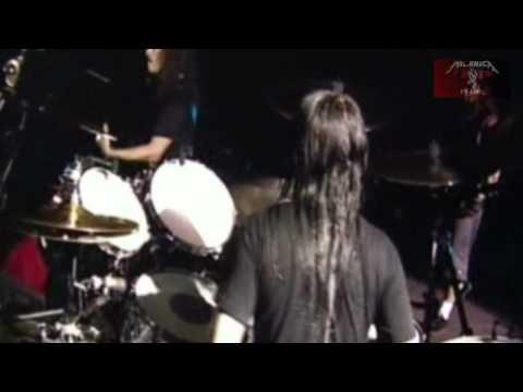 Metallica - Enter Sandman feat Joey Jordison - Download Festival UK - 2004