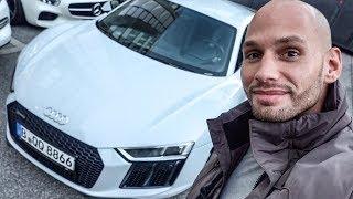 Mit dem Audi R8 nach Köln!