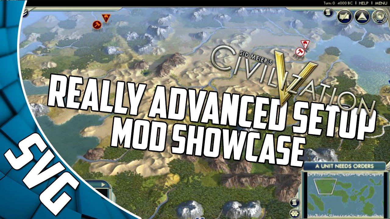 how to make a civilization 5 mod