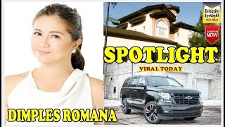 Dimples Romana - Lifestyle, Boyfriend, Net worth, House, Car, Biography 2018 , Kadenang Ginto Cast