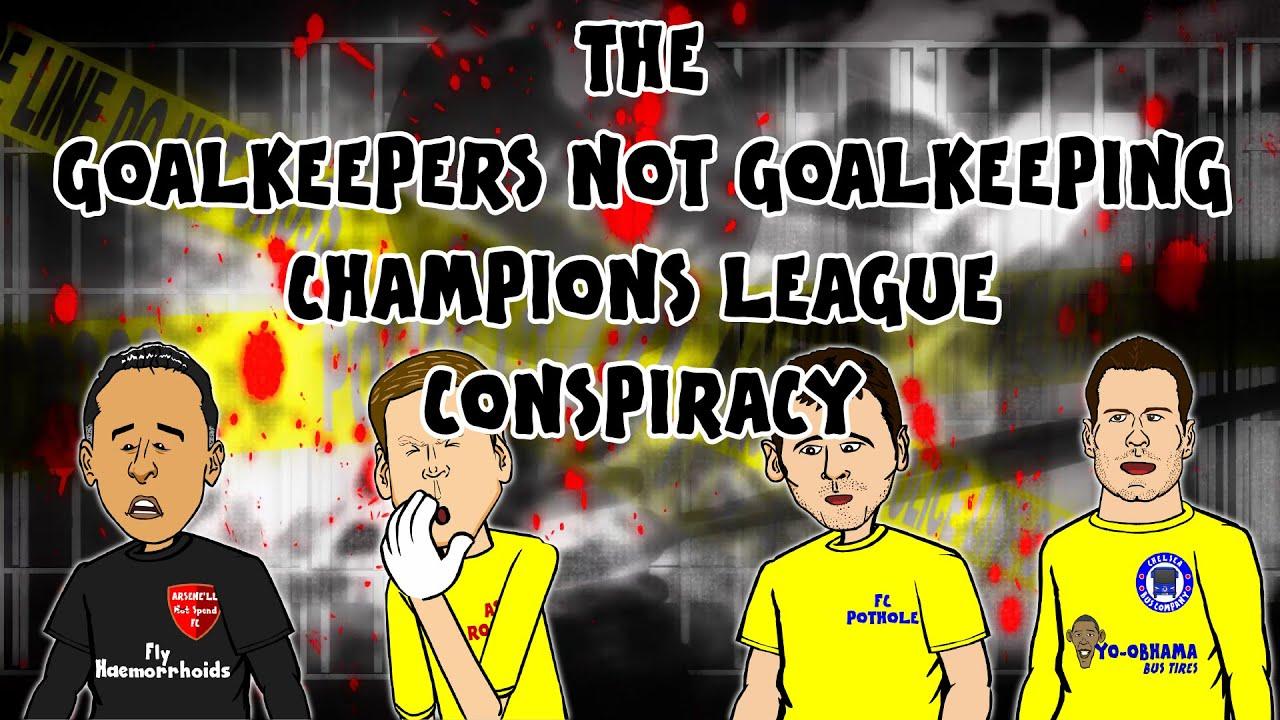 Download GOALKEEPER FAILS! Champions League CONSPIRACY? (Ospina, Szczesny, Casillas, Begovic)