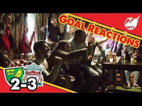 LFC Fan Goal Reactions | Norwich 2-3 Liverpool