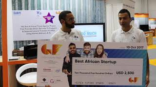 TravelDog bagged the Best African Startup for the GFS Supernova Pitch Competition 2017