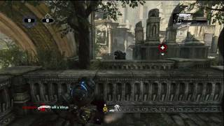 Gears of War 3 Full game on Clock Tower