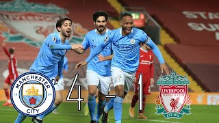 ליברפול נגד מנצ'סטר סיטי 4-1 | משחק העונה בליגה האנגלית