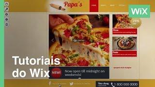 Cómo cambiar el encabezado y pie de pagina en tu Web | Wix.com
