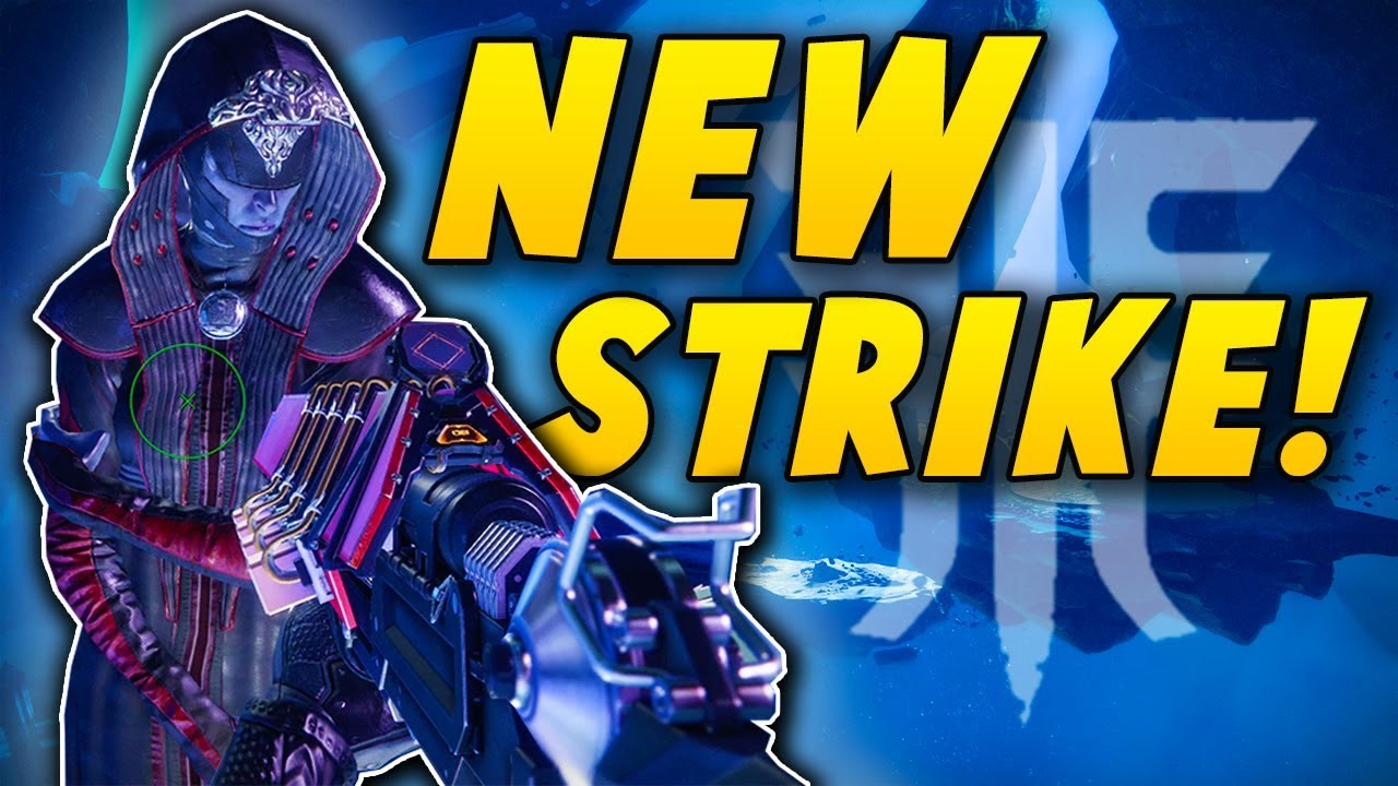 THE CORRUPTED - Coolest Strike in Destiny 2! (First Run Gameplay)