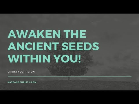 Prophesying AWAKE AWAKE to the ANCIENT SEEDS within you!