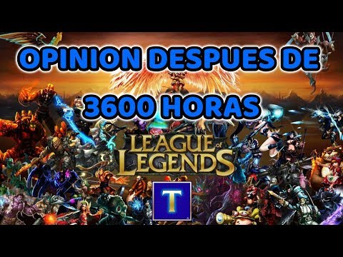 Opinión de un diamante IV después de 3600 horas de League of Legends + temas importantes