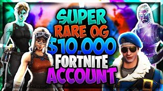 All Fortnite Skins Best Locker Ever Super Rare OG Account! Over 217+ Skins!