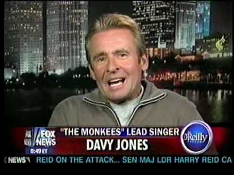 Davy Jones from The Monkees-The O'Reilly Factor-Bill OReilly