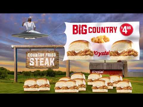 Krystal | Big Country Fried Steak