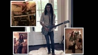Free Bird by Lynyrd Skynyrd Guitar Solo (cover by Cade Foehner)