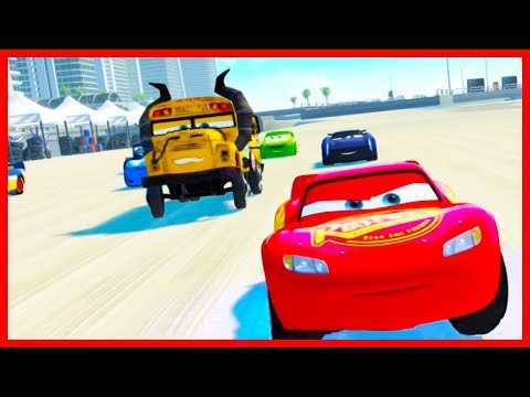 Lightning McQueen Dinoco All Star Cup! Cars 3 Driven to Win