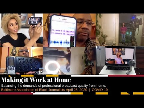 BABJ WEBINAR: Making It Work At Home W/ Elsa M, Harold Fisher And Karen Campbell