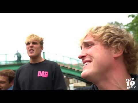 LOGAN PAUL FLIRTS WITH GIRLS IN ITALY Italian And German Compilation