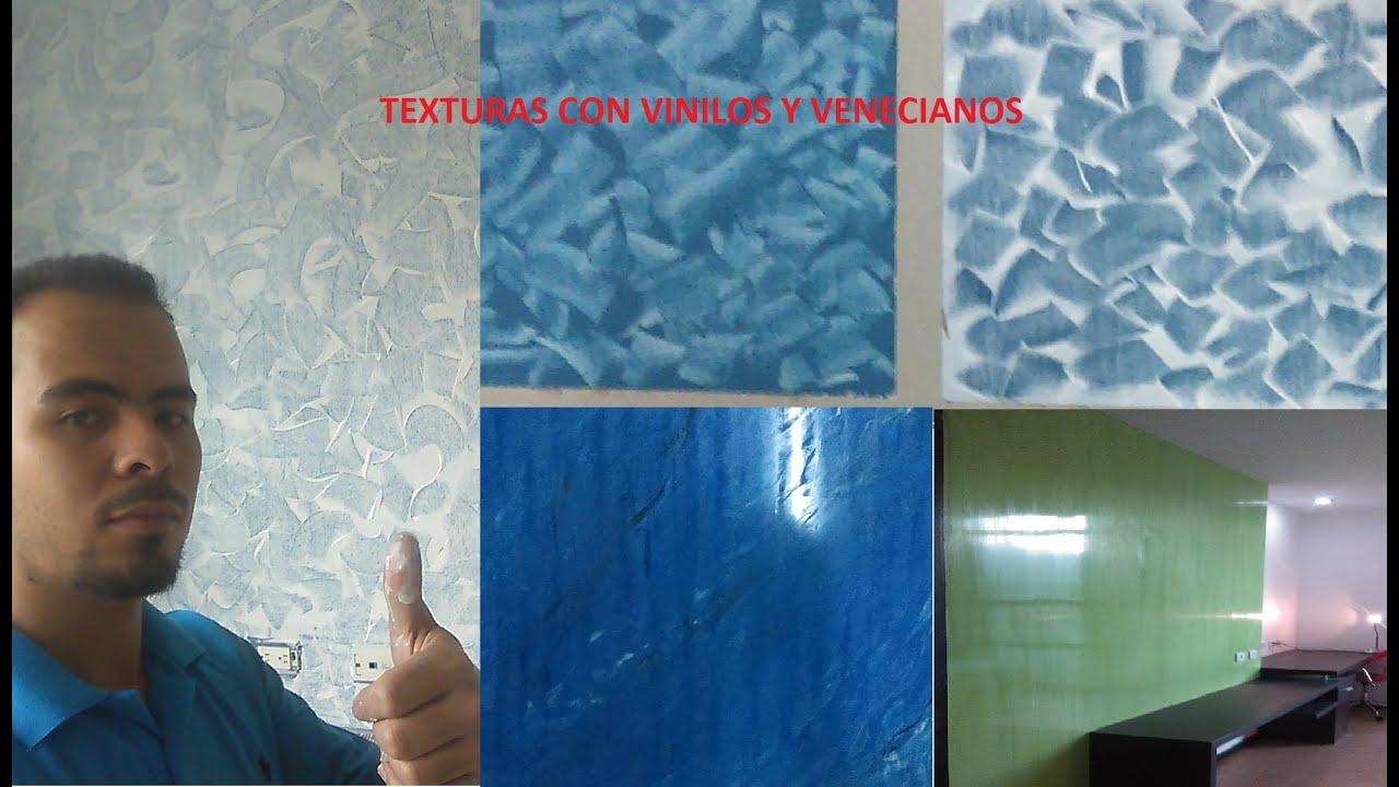 Como pintar paredes con textura o efectos espatulado - Pintar paredes con efectos ...