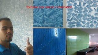 Como pintar paredes con TEXTURA o EFECTOS, espatulado  (TUTORIAL) #10