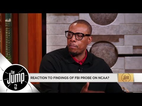 Paul Pierce calls for NCAA players at big schools to get compensated   The Jump   ESPN