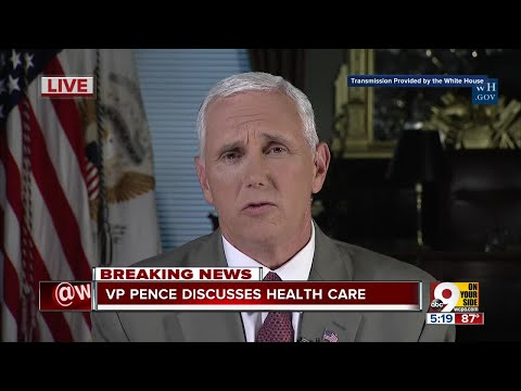 Exclusive: VP Mike Pence discusses health care