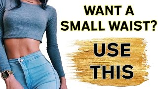 How To Get A Smaller Waist Fast (Using Cococut Oil)