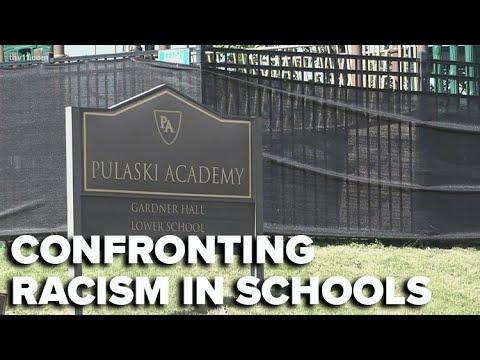 Pulaski Academy alumni confront racism within the school