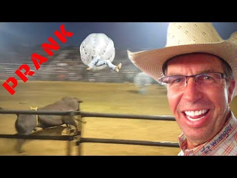 Bull Fighting in a Bubble PRANK thumbnail