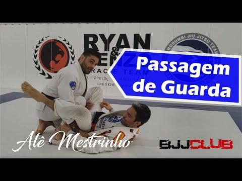 Passagem de Guarda com Lapela com Alê Mestrinho da Morumbi Academy - Jiu Jitsu - BJJCLUB