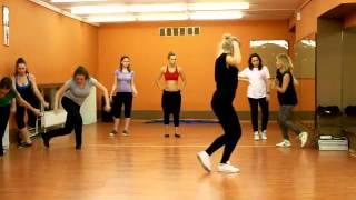 Урок в танцевальной школе Дива. Джаз-фанк.