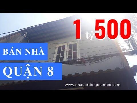 Bán nhà hẻm Phạm Thế Hiển phường 6 Quận 8 giá rẻ, chỉ 1,5 tỷ