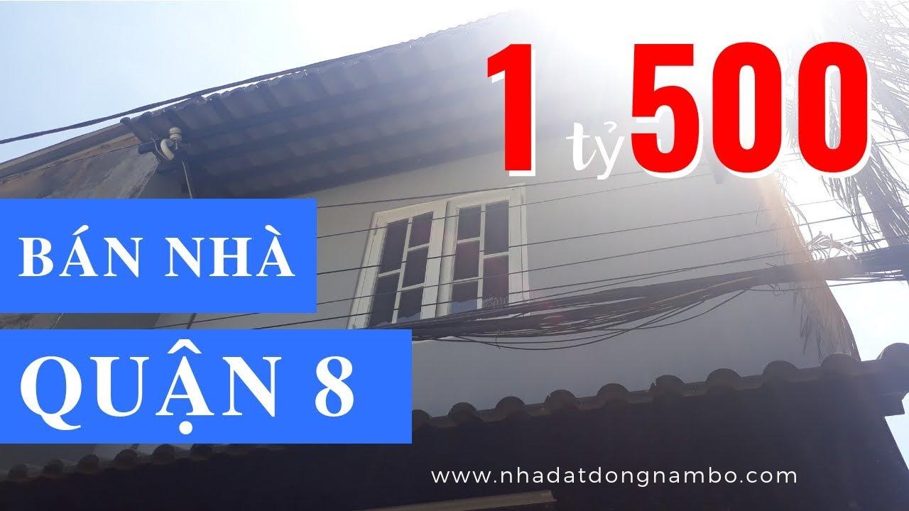 Bán nhà hẻm Phạm Thế Hiển phường 6 Quận 8 giá rẻ, DT 3,5 x 8m, 1 lầu 2PN – ĐÃ BÁN