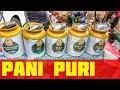 Indian Man Selling Delicious 5 Flavours Pani Puri | Chotu Golgappe | Indian Street Food
