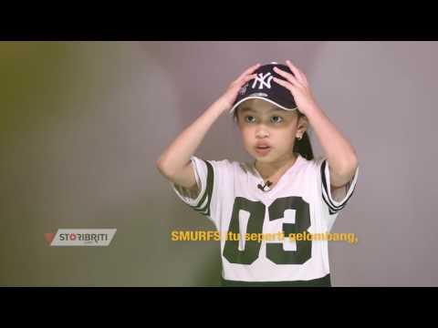 Azahra Leola anak Enda Ungu yang jago dance seperti Agnez Mo